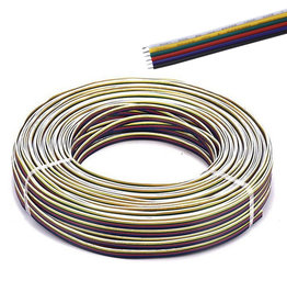 Cable (RGBCCT 6 hilos) por metro