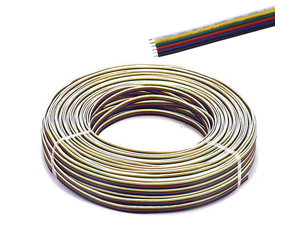 Electric wire (RGBCCT 6 veins) per meter on