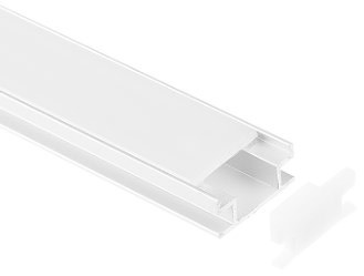 Aluminium in-ground recessed profile 1908 - 1 Meter
