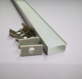 Perfil de aluminio 1808 - 1 Metro
