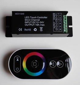 RGB Controller met touchwheel - Zwart - 6 Key