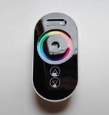 Controlador RGB con control remoto con rueda táctil - Negro - 6 Key