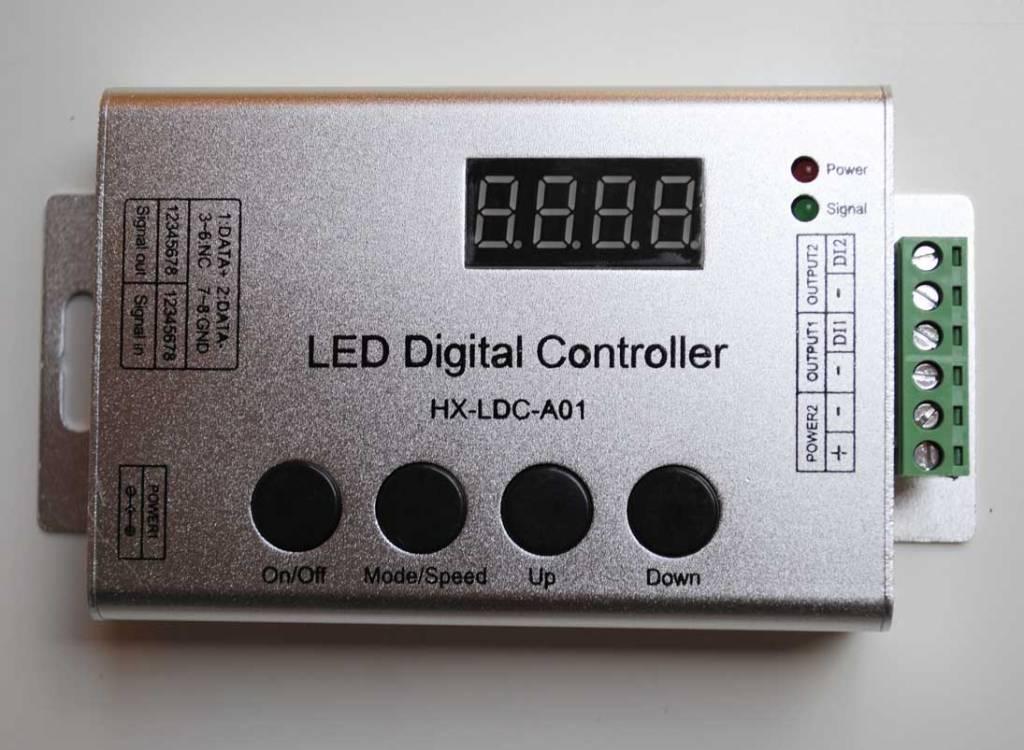 Controllore per Strisce LED Digitale con telecomando