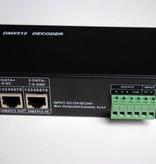 DMX 512 RGB Dimmer / Decoder per strisce LED RGB