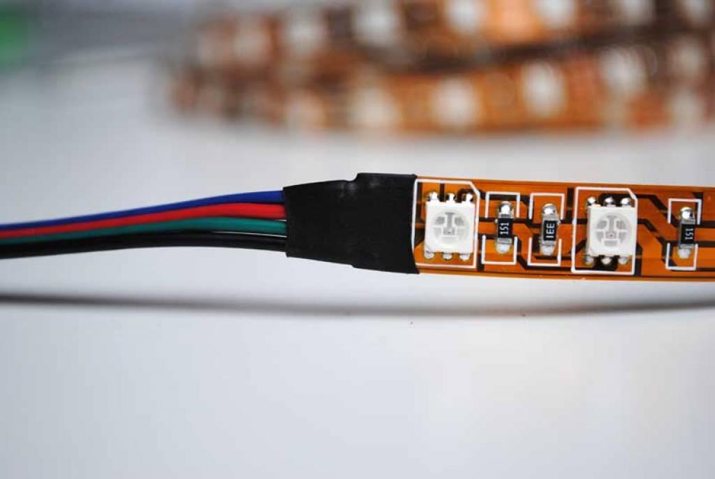 Tira LED Flexible 60 LEDs/m RGB por 50cm
