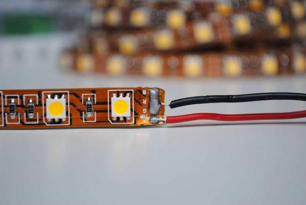 Tira LED Flexible 5050 60 LED/m Blanco - por 50cm