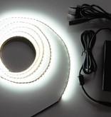 Weiß 120 LED / m Komplett