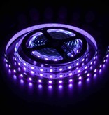 Led Strip Flexibel 5050 60 LED/m UV 400nm Waterdicht  per 50cm