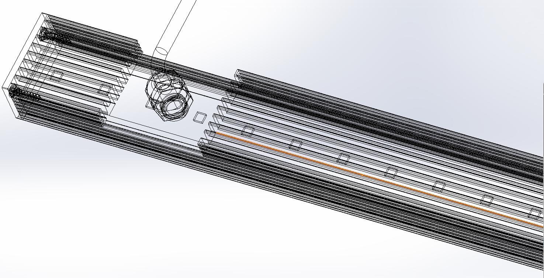 Personalized custom LED Strip LED Bar Light
