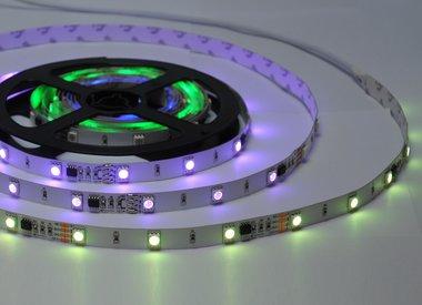 Hoe werk ik met digitale LED Strips?