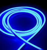 LED Neon flessibile Blu 120 LED/m 3014 IP67 - per 50cm