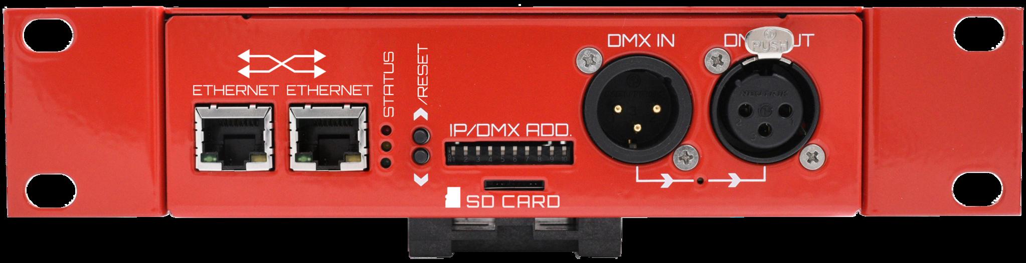 Controller di strisce LED digitali LEC3 Art-Net con software incluso