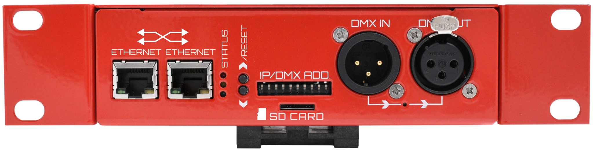 LEC3 Digital LED strip Controller Art-Net incl. Software