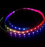 Striscia LED Flessibile 60 LED/m 10 pixel/m Digital per 50cm