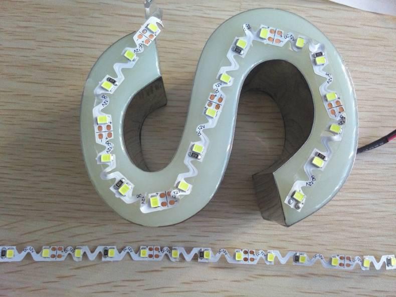 LED Shape-Strip 2835 60 LED/m - Blanco - por 50cm