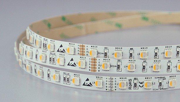 LED Streifen 60 LEDs/m RGB-WW 4 in 1 chip - je 50cm
