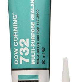Sigillante siliconico RTV trasparente Dow Corning 732