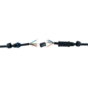 Connecteur de câble IP68 5 pôles