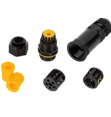 In-line Cable connector IP68 3-Pole