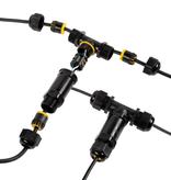 Conector de cable IP68 3 polos - T-Split