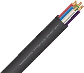 RGBW-Kabel (5 Adern) pro Meter