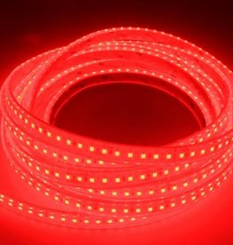 LED Strip Red 120 LED/m Waterproof - per 50cm