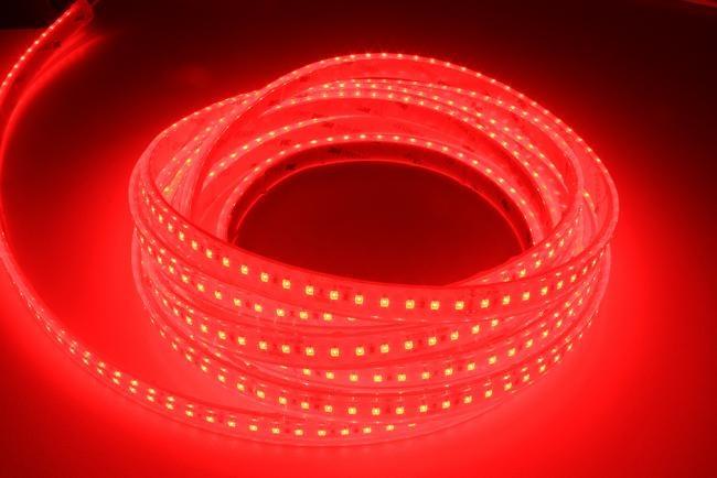 LED Strip Red 120 LED/m Waterproof - per 50cm