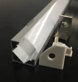 Aluminium hoekprofiel 1818 - 1 Meter