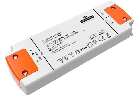 Snappy TRIAC Dimbare Adapter 50 Watt SP50-24VFT