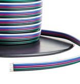 Kabel (5 Adern, RGBW) pro Meter