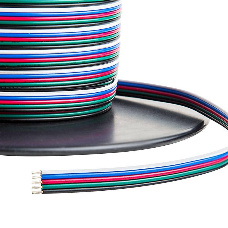 Electric wire (RGBW 5 veins) per meter