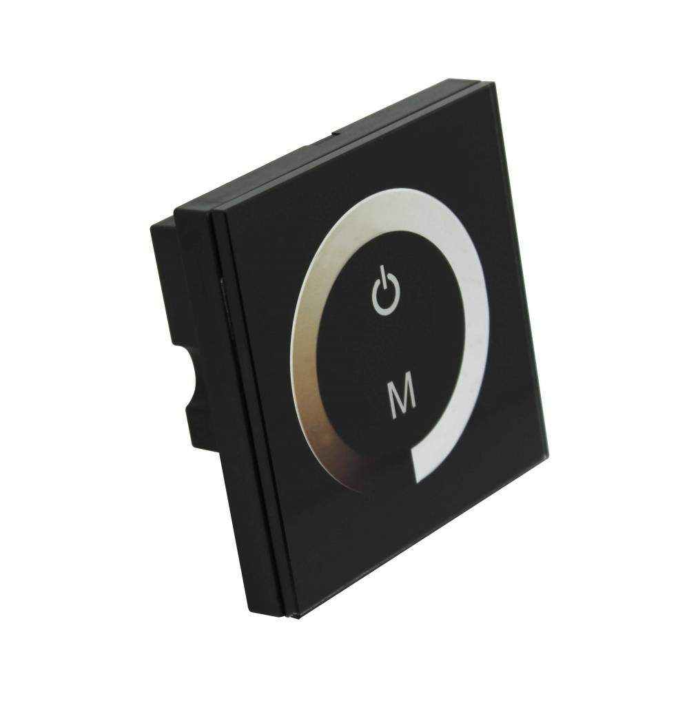 LED Wall dimmer with touch panel