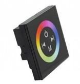 LED RGB muurdimmer met touch-panel
