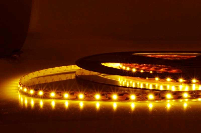 LED Strip Flexibel Geel per 50cm