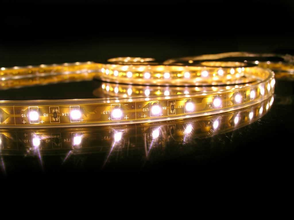 LED Strip Flexibel Waterdicht IP68 Warm Wit per 50cm