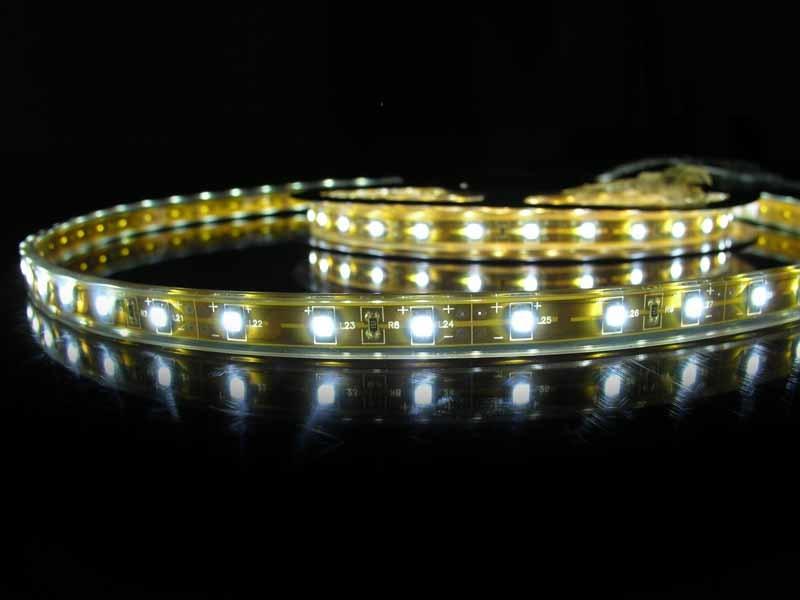 LED Strip Flexibel Waterdicht IP68 Wit per 50cm