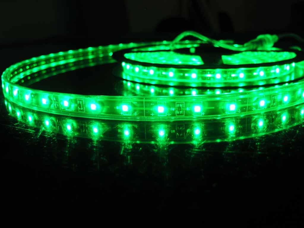 LED Strip Flexibel Waterdicht Groen per 50cm