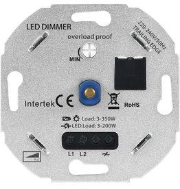 LED-Dimmer 3-350W 220-240V - Phasenanschnitt