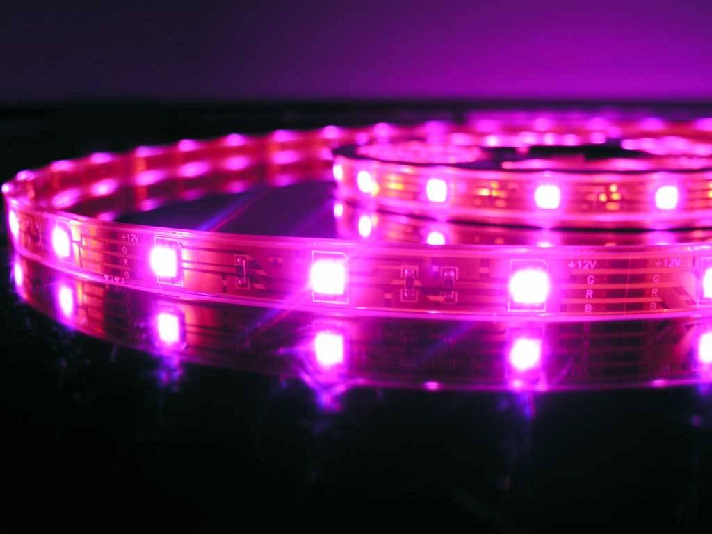 Tira LED RGB impermeable (IP68) - 30 LEDs/m - por 50cm