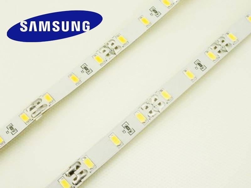 LED en bande auto-adhésive 5630 SMD 30 LED/m Blanc Chaud - par 50cm