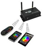 Controllore RGB WiFi - Collegamento WIFI Con Iphone e Smartphone Android