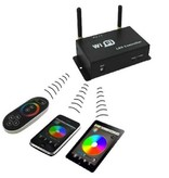 WiFi RGB Controller - Control RGB LED Strip from your smartphone