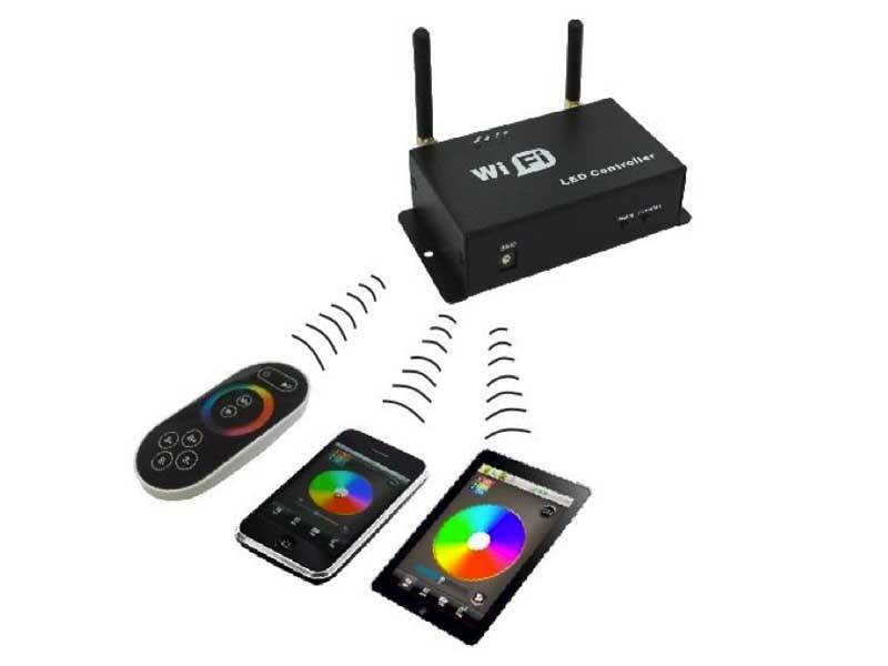 Contrôleur WiFi RGB - Controlez Bande de RVB LED avec votre smartphone