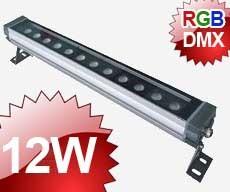 24V Wallwasher LED 12x1W RVB DMX