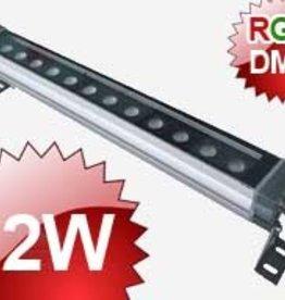 24V Wall Washer 12x1W RGB