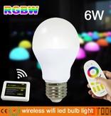E27 RGBWW 6W WiFi LED Birne 230V