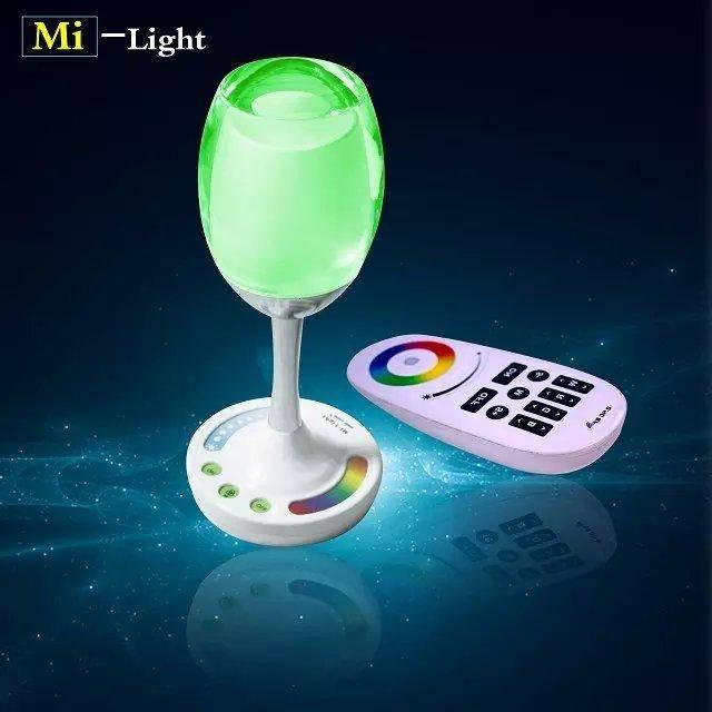 Lampe de table - Verre de Vin - LED RGBWW WiFi