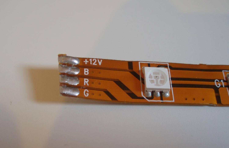 Tira LED Flexible RGB - 30 LEDs/m - por 50cm