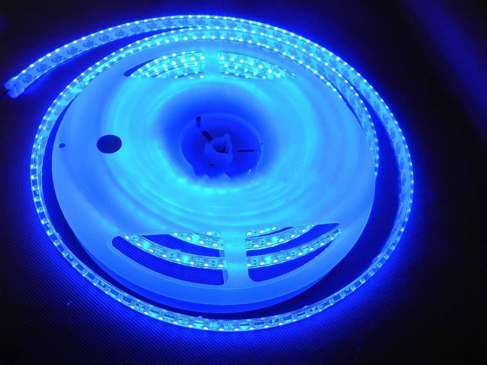 Striscia LED Impermeabile 120 LED/m Blu - per 50cm