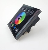 Wall-mount RGBW Controller with touch panel